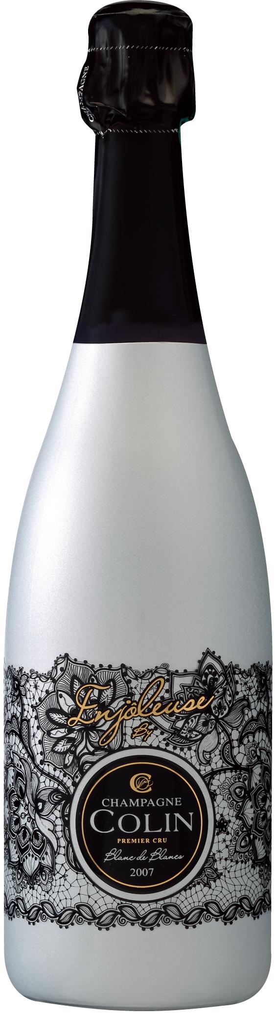 Champagne Cuvée Enjoleuse 1er cru Millésimé Brut Blanc de Blancs