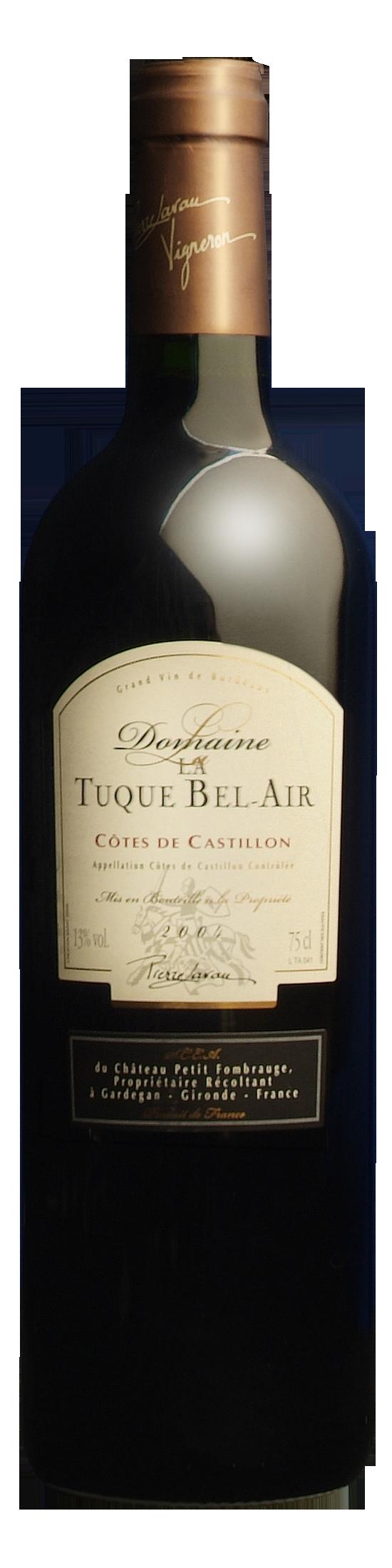 Domaine La Tuque Bel Air AOC Castillon Côtes de Bordeaux