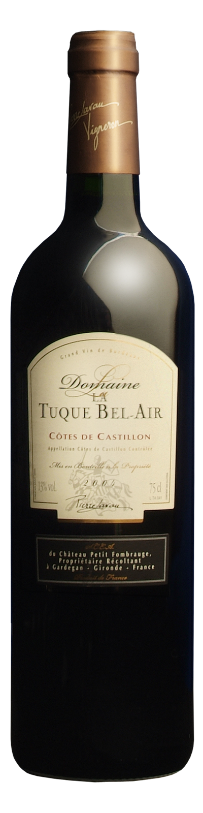 Magnum Domaine La Tuque Bel Air AOC Castillon Côtes de Bordeaux - Photo 1