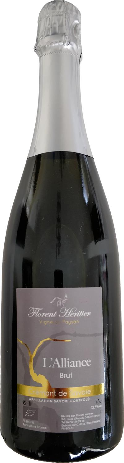 Crémant de Savoie L'Alliance Brut - Photo 1